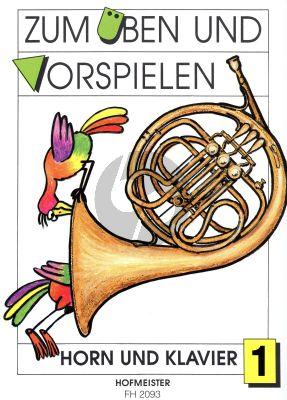Zum Uben und Vorspielen Vol.1 Horn-Klavier (Arr. by Gerd Philipp)