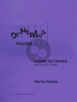 Flothuis Sonate da Camera Op.42 Flute-Harp (1951)