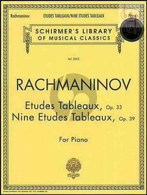 Etudes Tableaux Op.33 and Op.39 Piano Solo