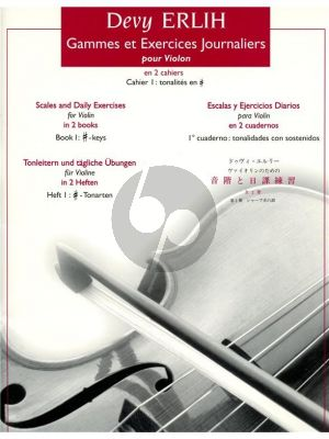 Gammes & Exercises Journaliers Vol. 1 #Keys Violon