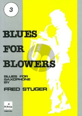 Stuger Blues for Blowers Vol.3 Altsax. (Bk-Cd)