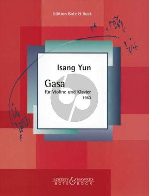 Yun Gasa Violin-Piano