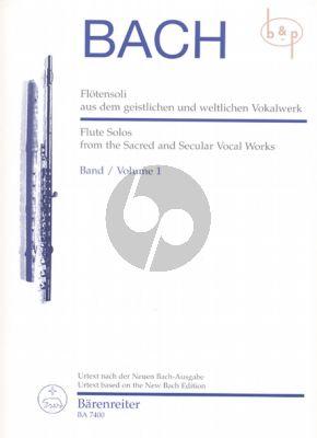 Flotensoli aus dem geistlichen und weltlichen Vokalwerk Vol.1