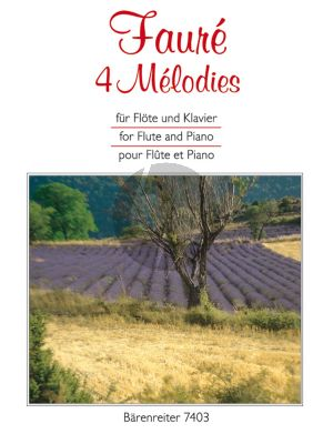 4 Melodies Flute-Piano