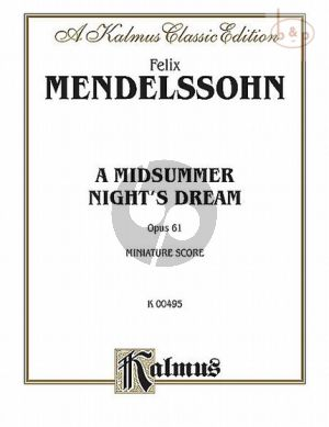 Midsummer Night's Dream Op.61