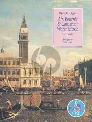 Handel Air, Bourree and Coro from Watermusic Colin Hand