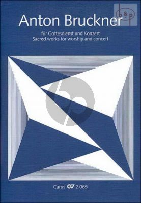 Sacred works for Worship and Concert