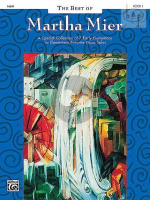 Best of Martha Mier Vol.1 Piano solo