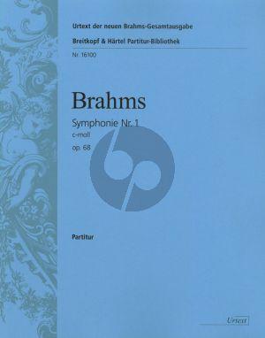 Brahms Symphonie No.1 c-moll Op.68 Orchester Partitur