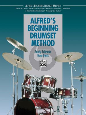 Alfred's Beginning Drumset Method (Book)