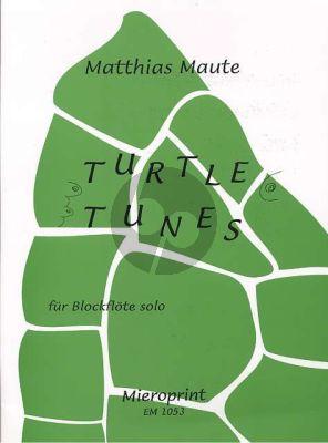 Maute Turtle Tunes Blockflote (Alt oder Sopran) Solo