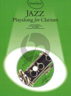 Guest Spot Jazz Playalong for Clarinet (Bk-Cd) (interm.)