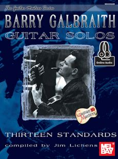 Galbraith Guitar Solos (13 Standards) (Book with Audio online)