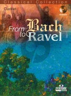From Bach to Ravel for Clarinet (Bk-Cd) (Peter Manning)