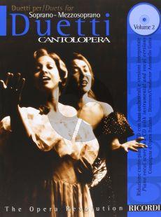 Duetti vol.2 (Sopr.-Mezzo/sopr.) (Canto L'Opera) (Book-CD)