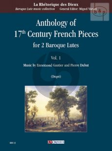 Anthology of 17th. Century French Pieces Vol.1 (2 Baroque Lutes)
