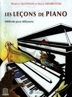 Quoniam Lecons de Piano 1 (Methode Pour Debutants)