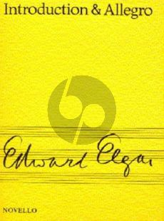 Elgar Introduction and Allegro Opus 47 for Strings (Study Score)