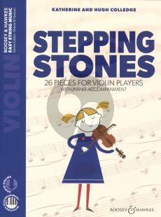 Colledge Stepping Stones Violin-Piano (26 Pieces for Beginning Violinists)