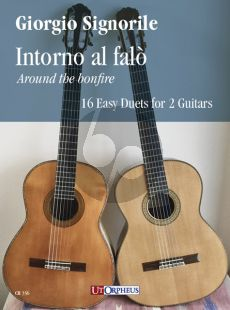Signorile Around the bonfire - 16 Easy Duets for 2 Guitars