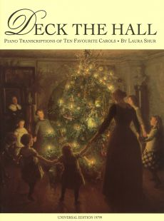Deck the Hall (Shur) (Piano Transcriptions of Ten Favourite Carols) (Grade 3)