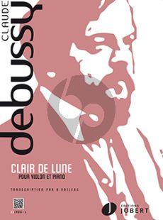 Debussy Clair de Lune (de Suite Bergamasque) Violon-Piano