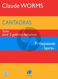 Worms Cantaoras - Piriñaqueando (Siguiriya) 2 Guitares flamencas