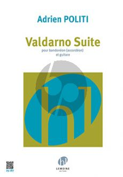 Politi Valdarno Suite Bandoneon (Accordeon)-Guitar