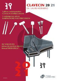 Clavecin 20 - 21 (3 Pieces Contemporaines) (Clavecin et Percussion (ed. Laure Morabito)