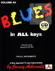 Jazz Improvisation Vol.42 Blues in All Keys