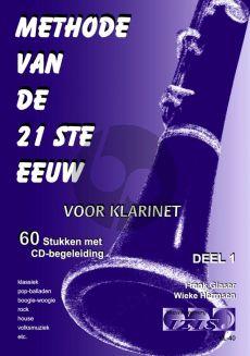 Glaser-Hermsen Methode van de 21ste Eeuw Vol.1 Klarinet (Bk-Cd)