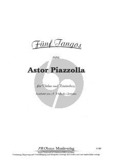 Piazzolla 5 Tangos (Wiebecke-Gottstein)