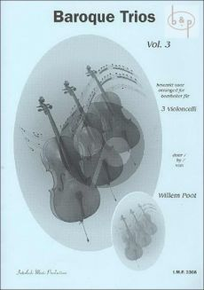 Baroque Trios Vol.3 3 Cello's