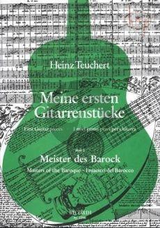 Meine Erste Gitarrenstucke Vol.2 Meister der Barock