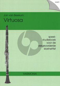Beekum Virtuosa (Speel-Studieboek vergevorderde Klarinettist)