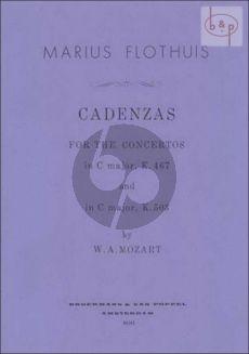 Cadenzas to Mozart's Pianoconcertos KV467 C-major and KV503 C-major