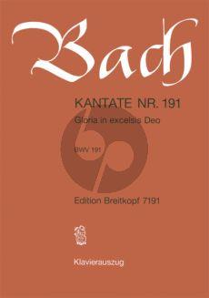 Bach Kantate No.191 BWV 191 - Gloria in excelsis Deo (Deutsch) (KA)