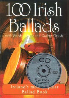 100 Irish Ballads Vol.1 (Bk-Cd) (Melodyline/Lyrics/Chords)