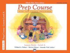 Alfred Prep Course Lesson Book Level A (Bk-CD) (Universal Edion)