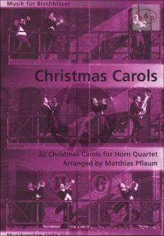 Christmas Carols (22 Carols) (4 Horns) (Score/Parts)