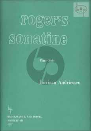 Roger's Sonatina Piano solo