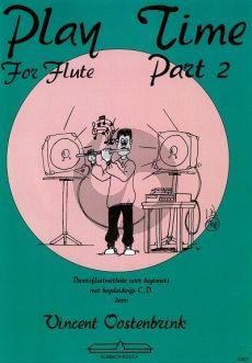 Oostenbrink Play Time for Flute Vol.2 (Boek-Cd)