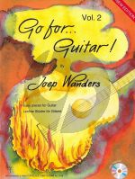 Wanders Go for Guitar! Vol.2 (Grade 2 - 3) (Bk-Cd) (Cd Contains Samples of All the Pieces to Listen to and as a Bonus 9 Play Along Tracks)