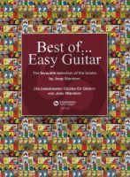 Joep Wanders Best of Easy Guitar