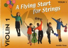 Thorp A Flying Start for Strings Violin 1 Part (Suitable for Teaching Individuals or Groups)
