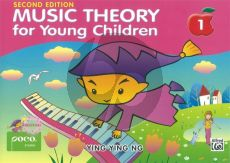 Ying Ying Music Theory for Young Children Vol.1 Piano (2nd. ed.)