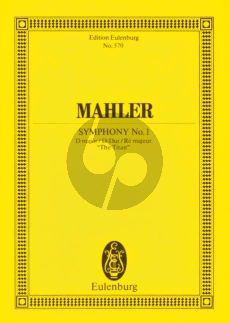 """Symphony No.1 D-major """"Titan"""" Study Score"""