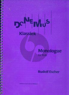Escher Monologue Flute solo