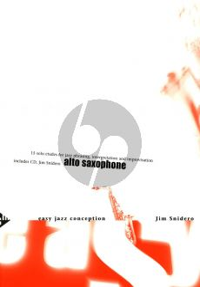 Snidero Easy Jazz Conception Alto Saxophone (Bk-Cd) (15 Solo Etudes for Jazz Phrasing, Interpretation, Improvisation)