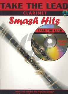 Take the Lead Smash Hits Clarinet (Book-CD)